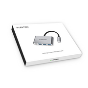 LENTION 4-in-1 USB-C Hub With 3 USB 3.0 and PD Charging (CB-C13se) (UK Warehouse In Stock)