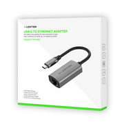LENTION USB C to Gigabit Ethernet Adapter (CB-CU604E) (US Warehouse in Stock)