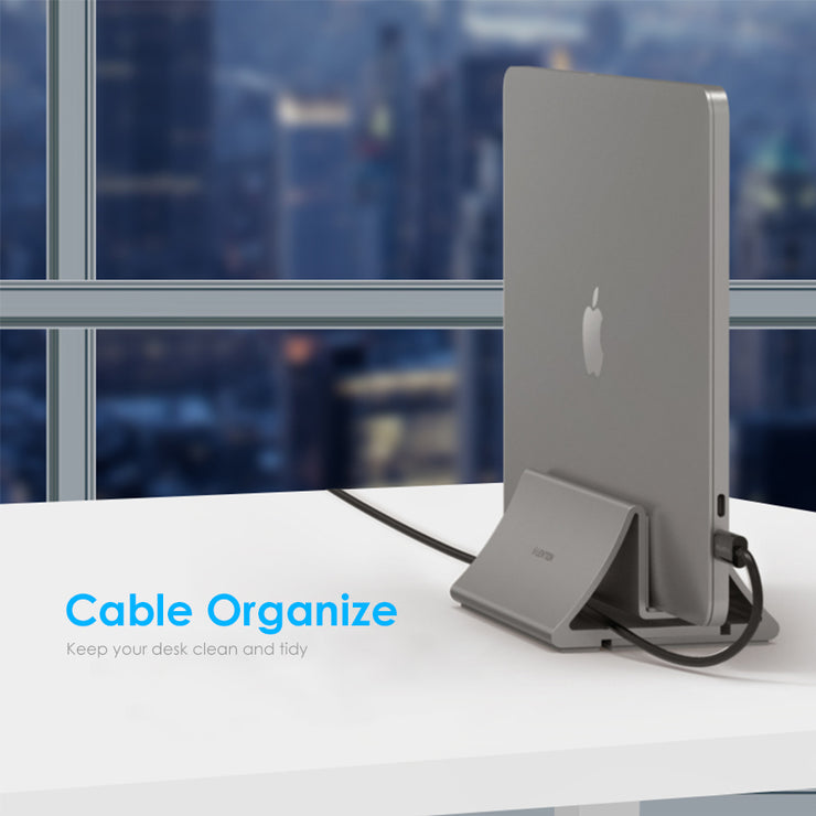LENTION Aluminum Space-Saving Vertical Desktop Stand (Stand-LS1) (US/CA Warehouses in Stock)