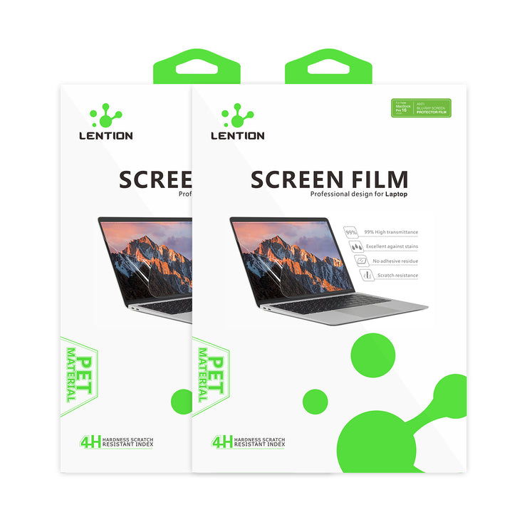 LENTION Anti Blue-ray Screen Protector, Fingerprint-proof Dull polish Clear Film