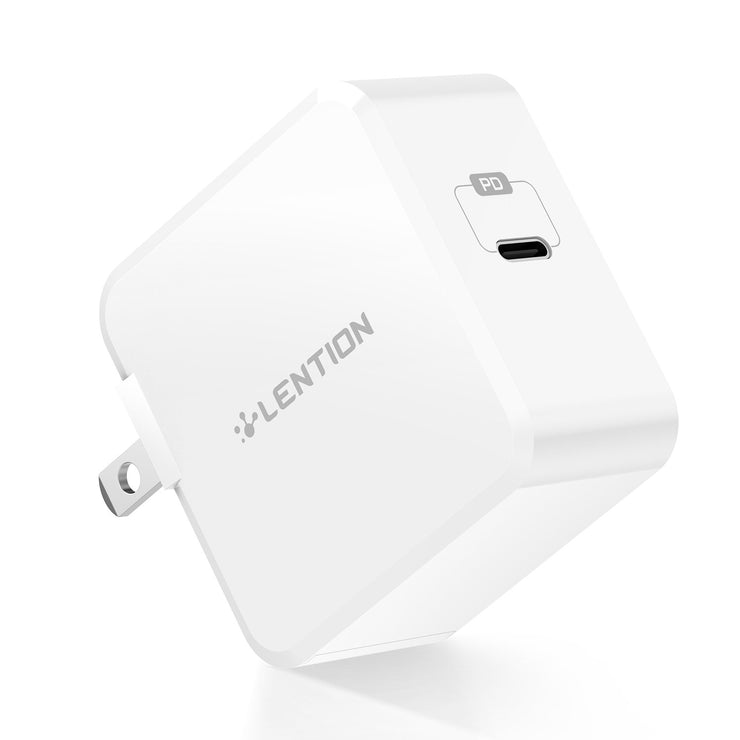 $19.99 - LENTION 29W USB C Wall Charger with Fast Charge PD Adapter (TC-035PD)