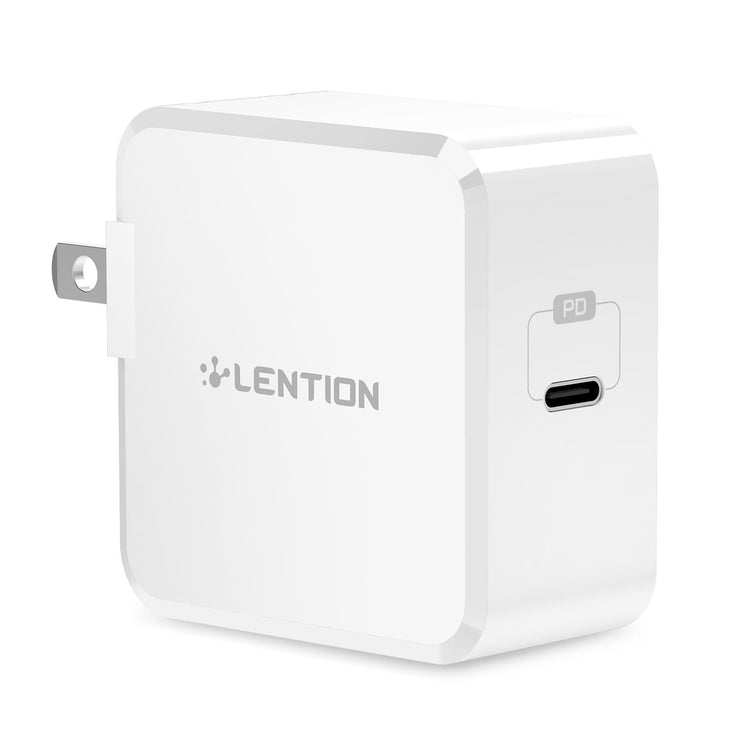 USB C Wall Charger with Fast Charge PD Adapter - 29W | LENTION