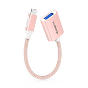 LENTION USB C to USB 3.0, Type C Male to USB A Female [2 pack] (CB-C6) (US Warehouse in Stock)