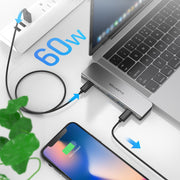 LENTION USB C Portable Hub - Dual 4K HDMI for Multiple Screens Display | Lention.com