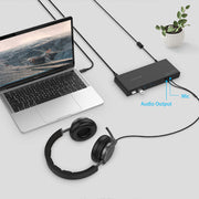 Compatible MacBook Pro 13/15/16, Mac Air, Surface - Docking Station | Lention