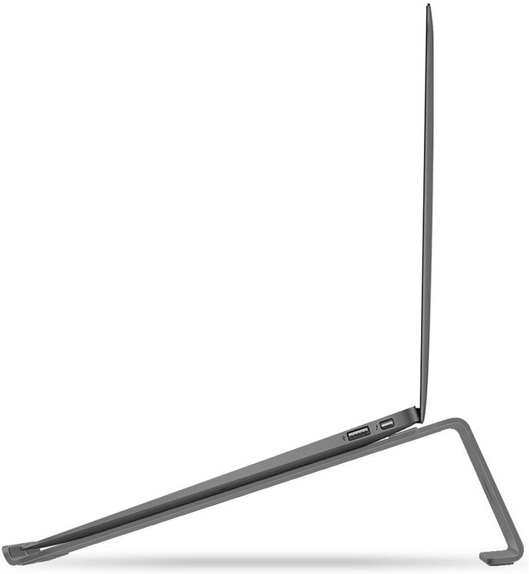 Lention.com: Aluminum Laptop Stand (Stand-L1) for MacBook Air 11/13, MacBook Pro 13/15, Microsoft Surface, Dell, HP, ASUS: Office  Products