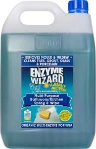 Bathroom/Kitchen spray and wipe