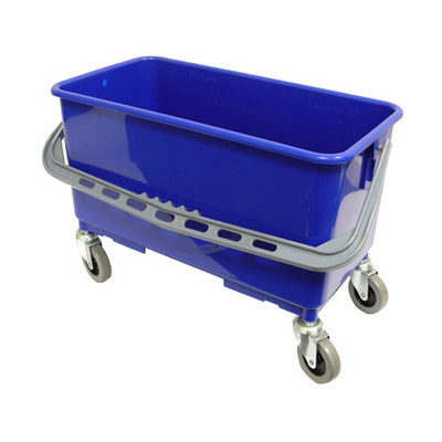 window washing bucket with casters, 22 litre