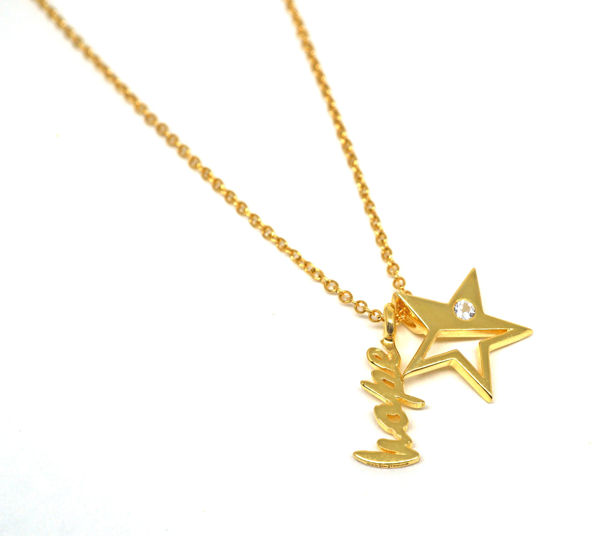 Sparkle Necklace - Hope - Gold