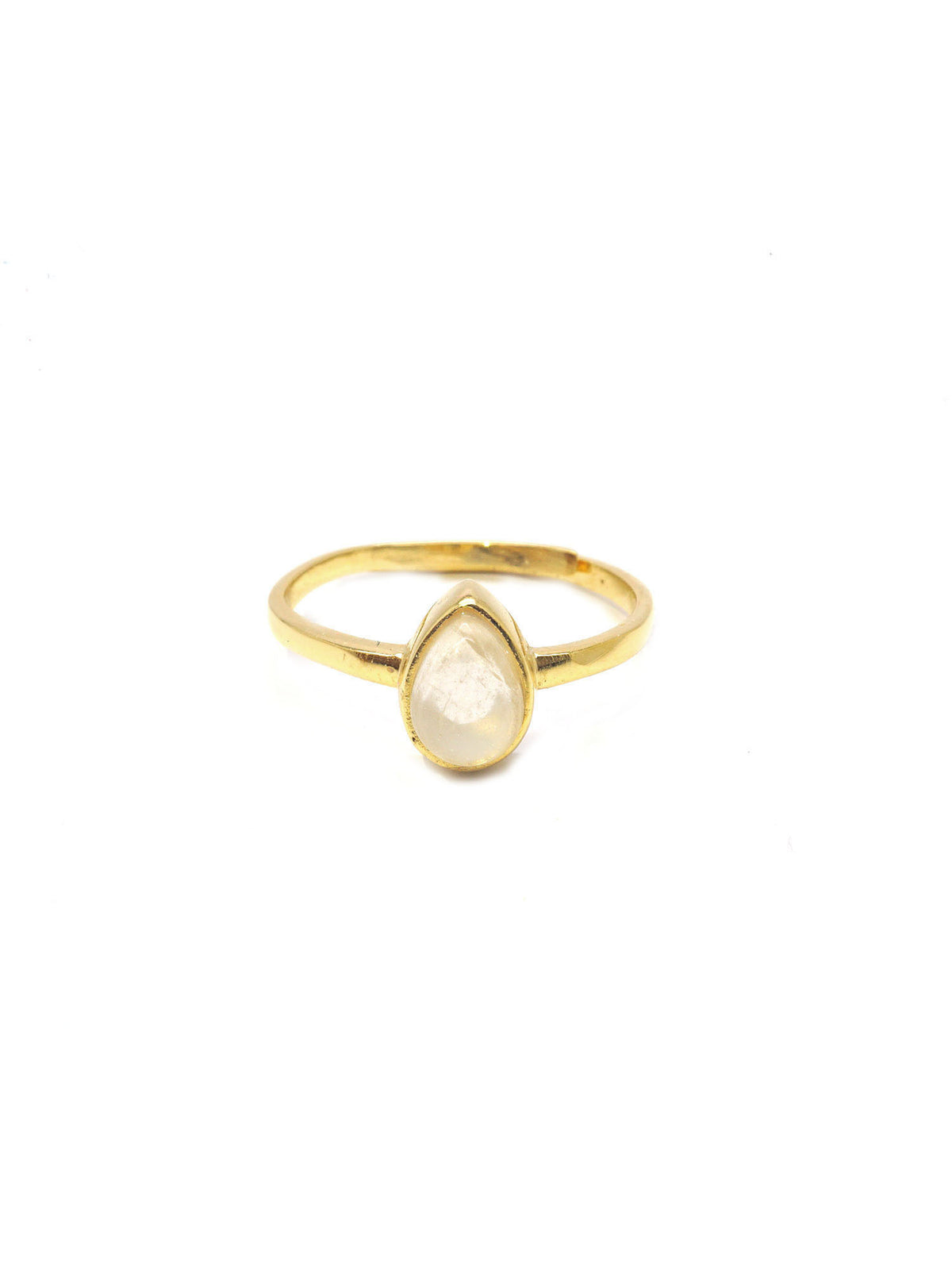 Dew Drop Ring - Gold - Moonstone
