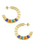 Pharaoh Hoop Earrings