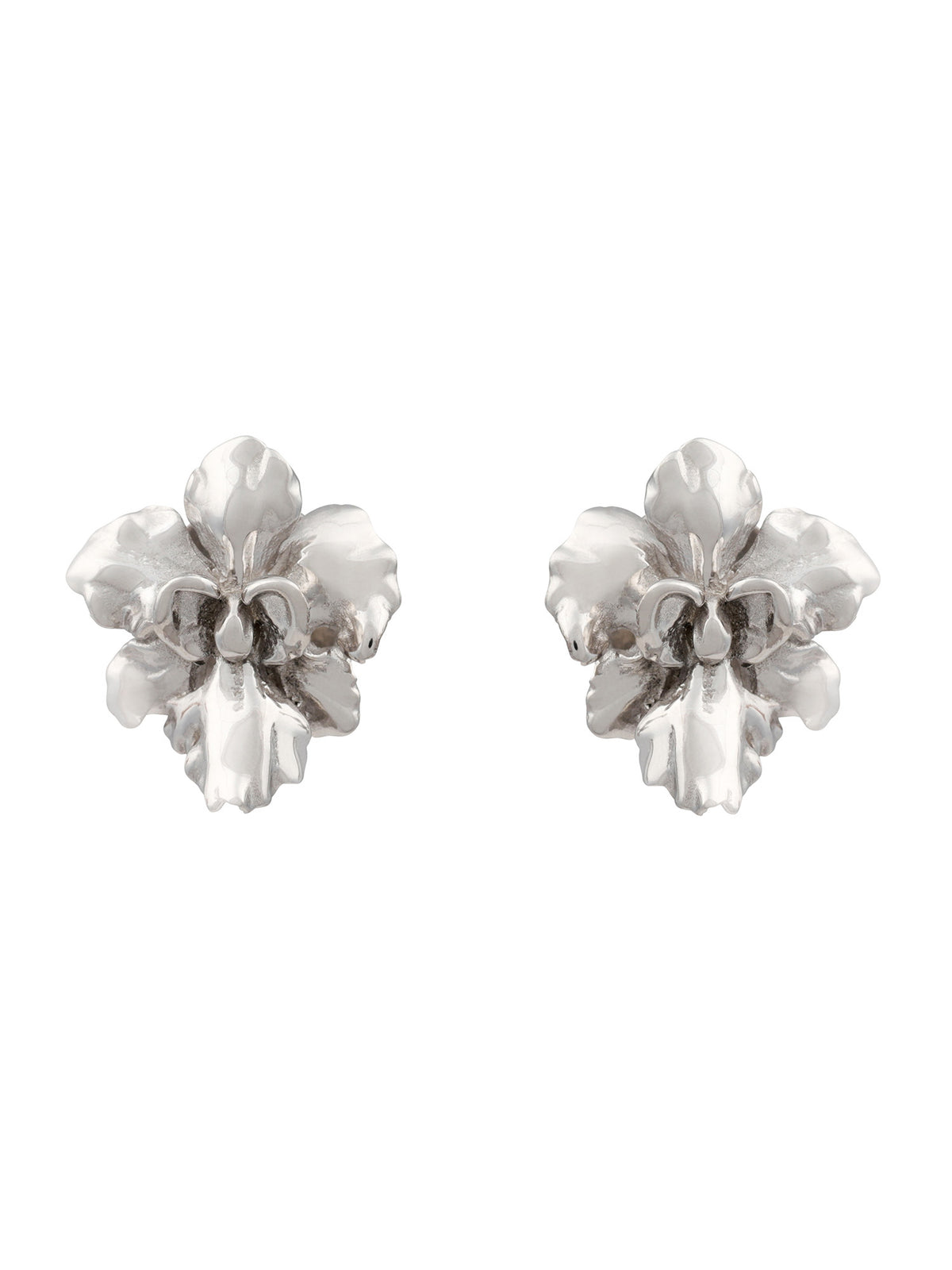 Orchid Stud Earrings