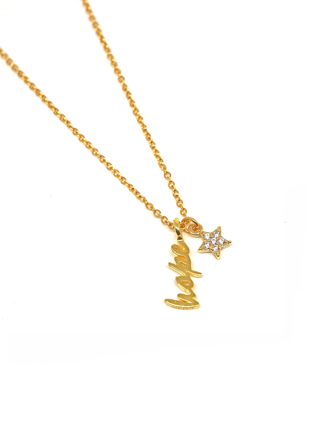 Sparkle Necklace Mini - Hope - Gold