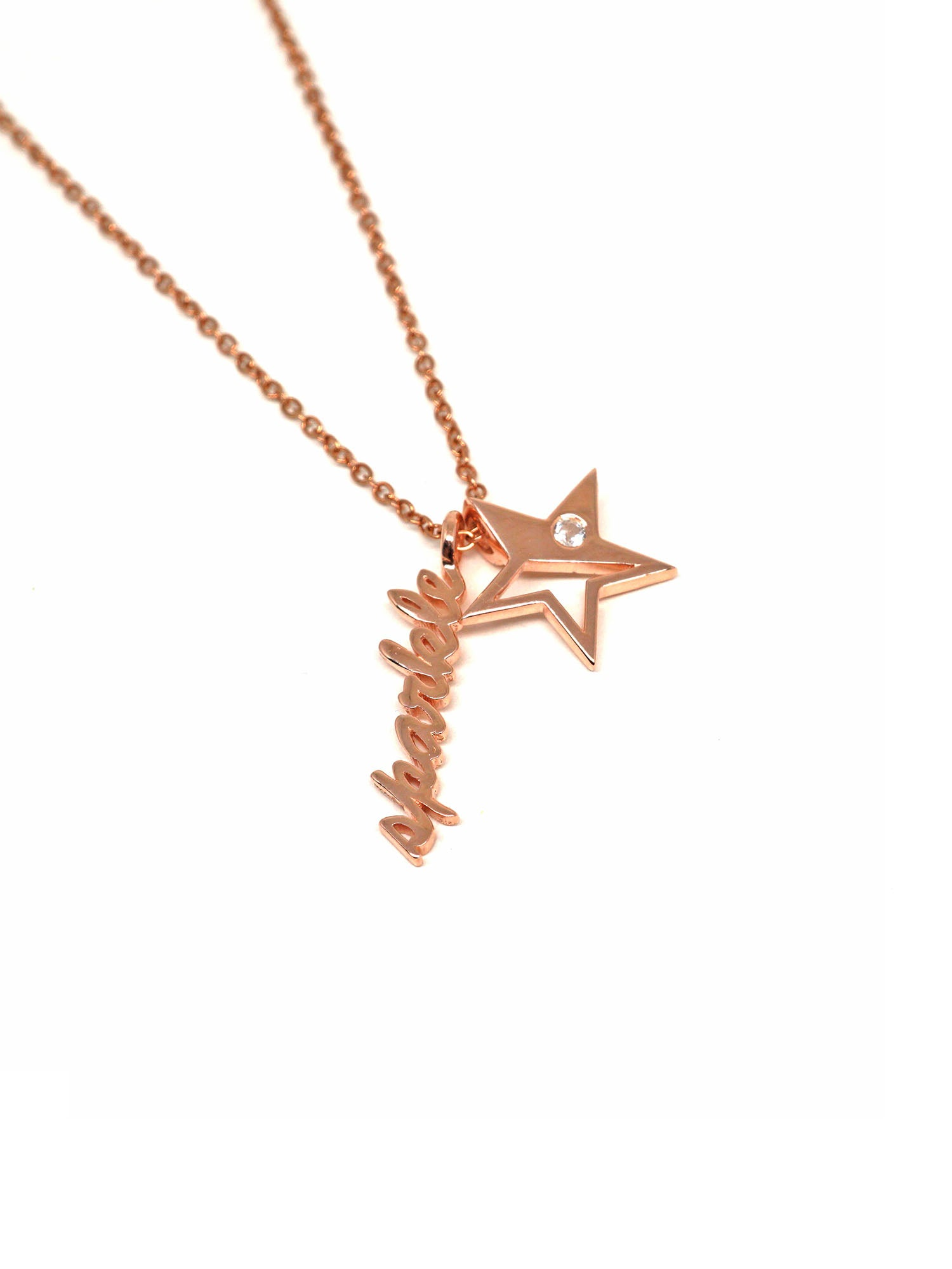 Sparkle Necklace - Rose Gold
