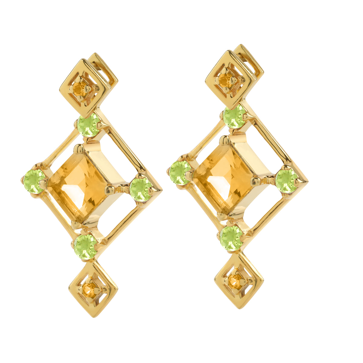 Reconceptions Two-Way Studs - Gold - Yellow