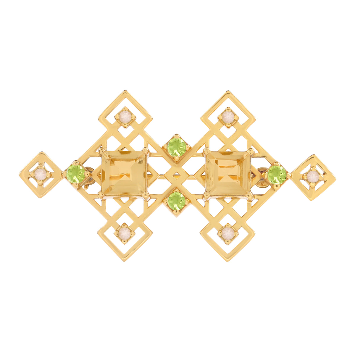 Reconceptions Brooch - Gold - Yellow