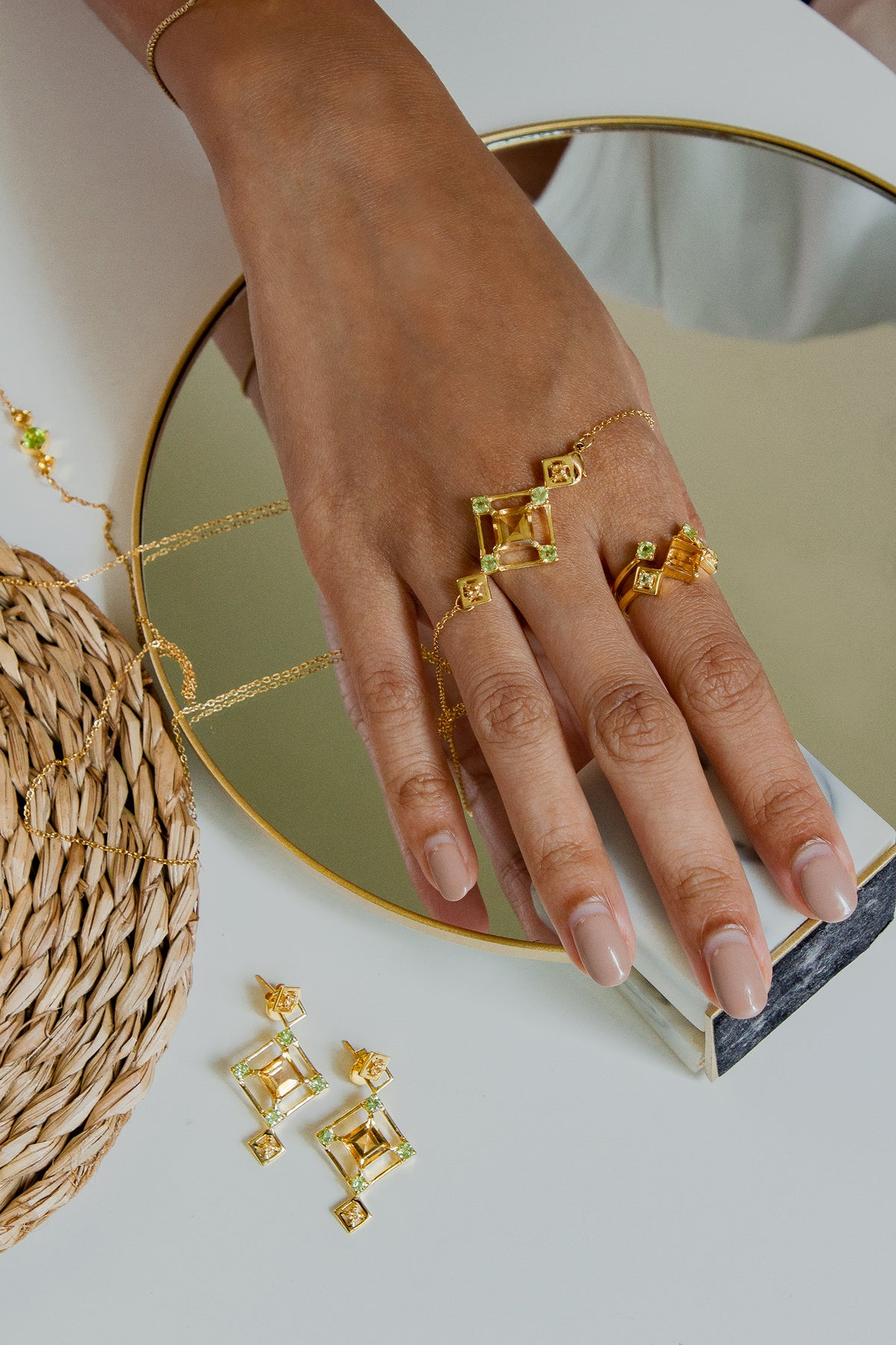 Reconceptions Stackable Ring - Gold - Yellow