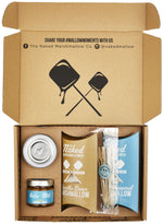 The Naked Marshmallow Co - Salted Caramel Lovers Gift Set.-The Green Berry