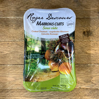 Vacuum Packed Cooked Chestnuts 400g-The Green Berry