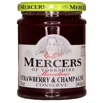 Mercers of Yorkshire Strawberry & Champagne Conserve 340g