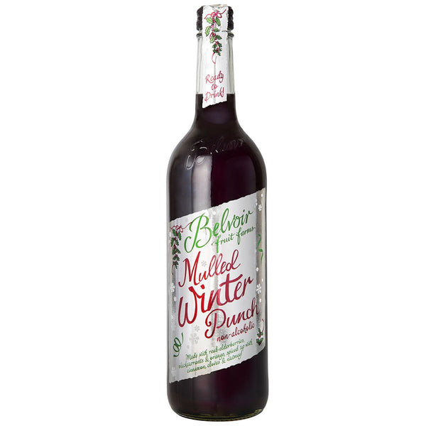 Belvoir Mulled Winter Punch (non-alcoholic) 750ml-The Green Berry