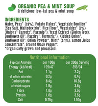 Free & Easy - Organic Pea & Mint Soup 400g
