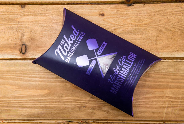 The Naked Marshmallow Co. - Violet Gin Gourmet Marshmallows 100g