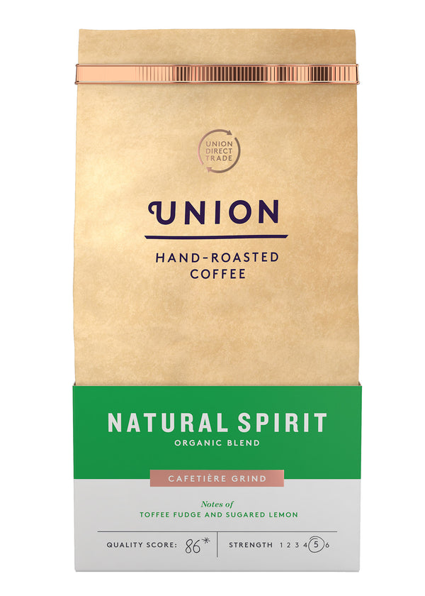 Union Hand-Roasted Coffee Timana Colombia - Cafetiere Grind 200g-The Green Berry