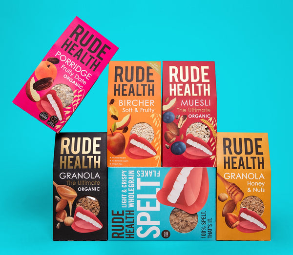 Rude Health - Puffed Brown Rice 225g-The Green Berry