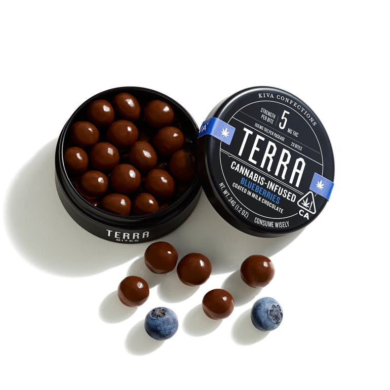 Terra | Milk Chocolate Blueberries 100mg THC