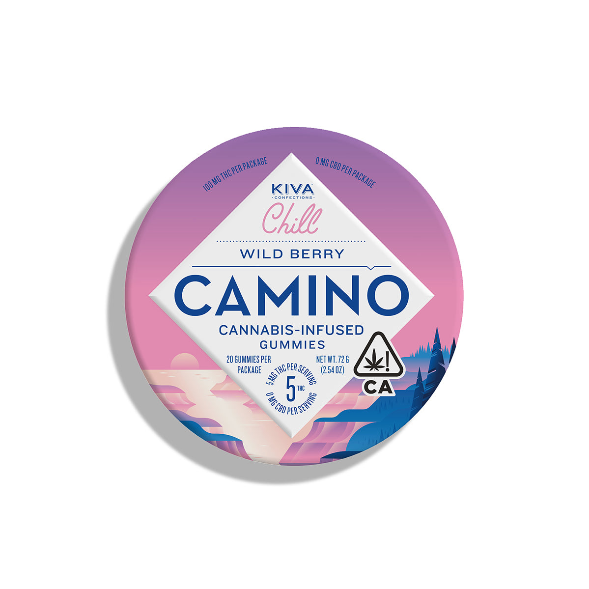 Camino | Wild Berry Gummies 100mg THC