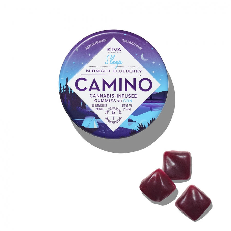 Camino | Midnight Blueberry 100mg THC:20mg CBN
