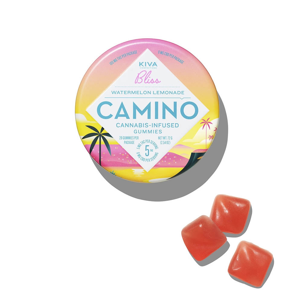 Camino | Watermelon Lemonade Gummies 100mg THC