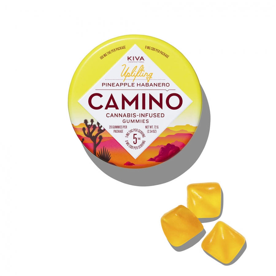 Camino | Pineapple Habanero Gummies 100mg THC