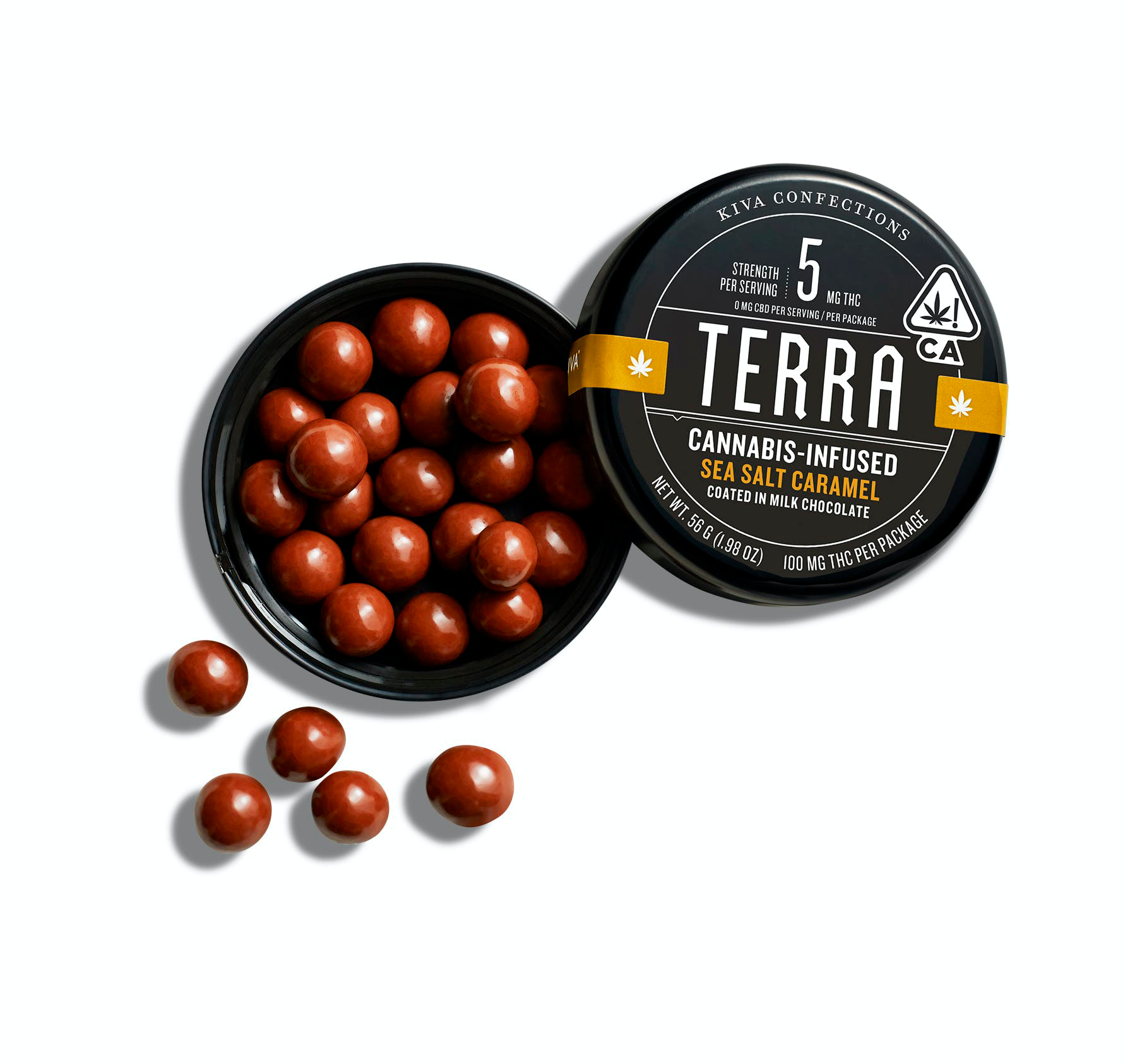 Terra | Milk Chocolate Seasalt Caramel 100mg THC