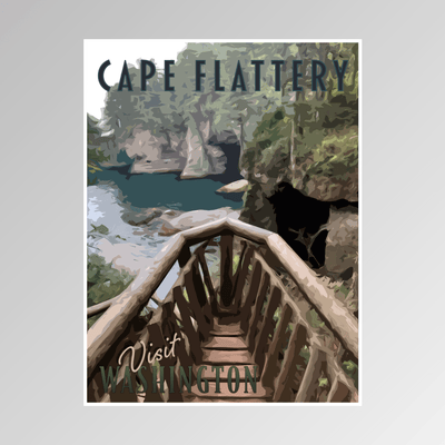 Cape Flattery, Washington - Adler Prints