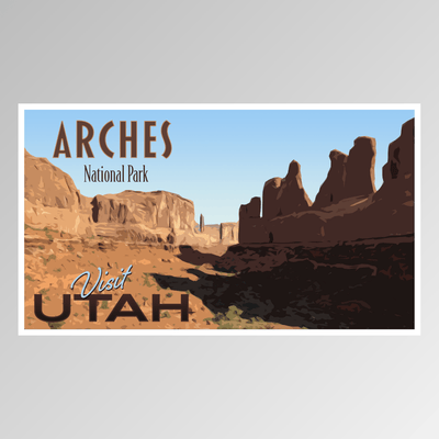 Arches, Utah - Adler Prints