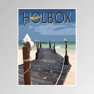 Holbox, Mexico - Adler Prints