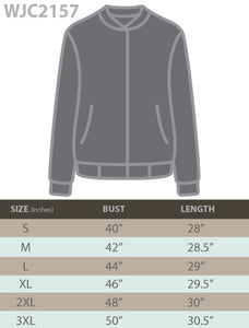 WJC2157 Women's Classic Lightweight Jacket Multi Pocket Windbreaker Bomber Jacket