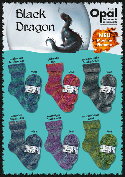 Opal - Black Dragon - 4ply