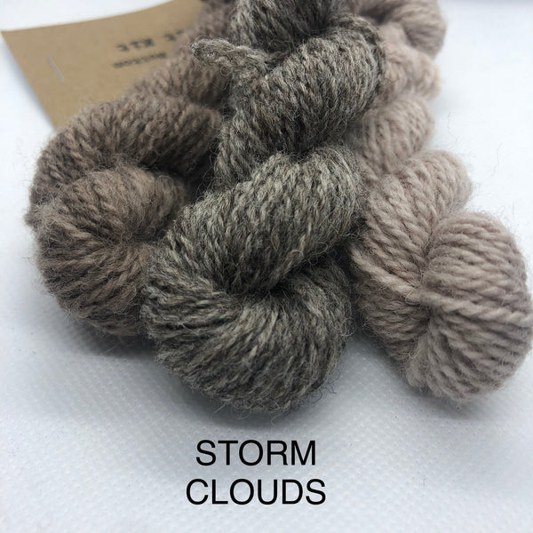 Charlie Buttons Yarn - Natural Dyed Minis Trio - 4Ply