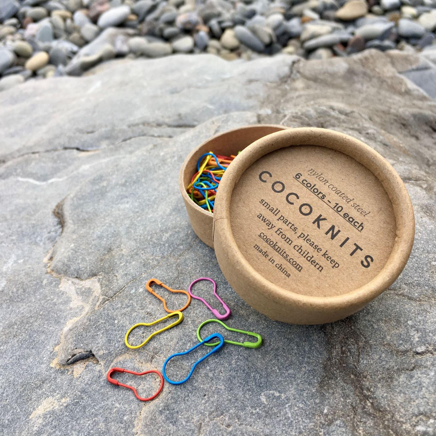 Cocoknits coloured opening stitch markers