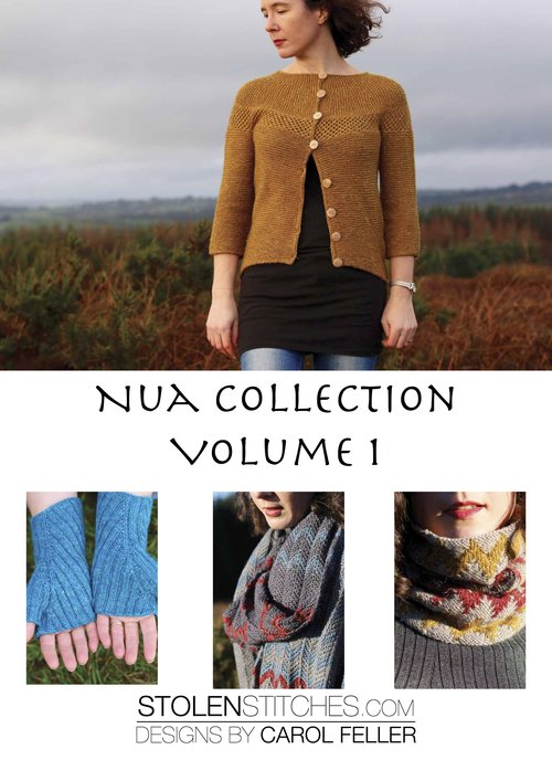 Nua Collection Volume One - Stolen Stitches Designs by Carol Feller