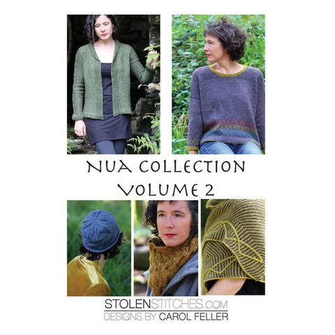 Nua Collection Volume Two - Stolen Stitches Designs by Carol Feller