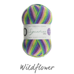 WYS - Signature 4ply - Winwick Mum Collection