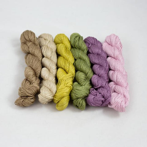 BC Garn - Silkbloom extra fine mini combo - 4ply yarn
