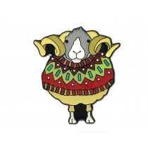 Sheep in Sweaters Enamel Pin - Emma Ball