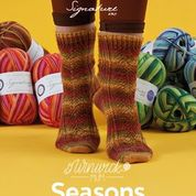 Seasons Socks Collection:  Hand knitted sock designs by Winwick Mum