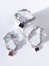 Load image into Gallery viewer, [R.]Charm Bracelet SILVER