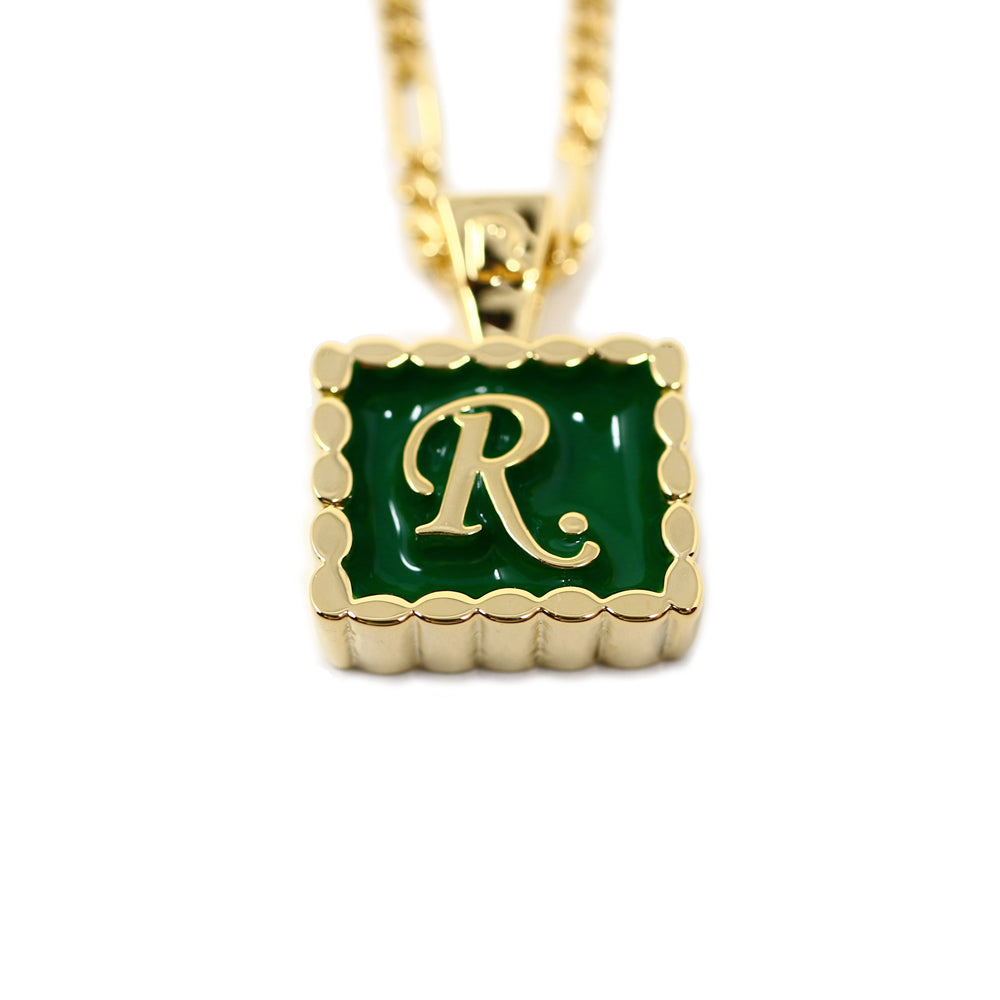 [R.]Charm necklace GOLD